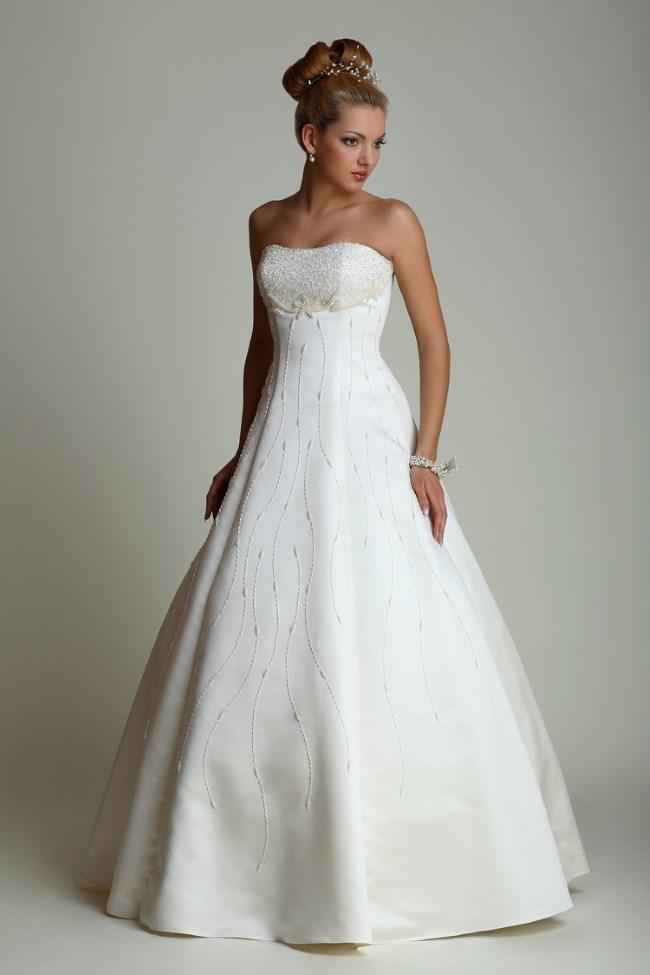 Свадебное платье колокольчик