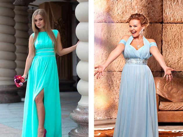 Платье подружек невесты купить в москве
