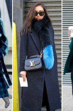 Пальто с меховым воротником: носить или не носить