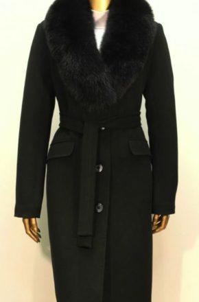 Пальто с меховым воротником в Москве