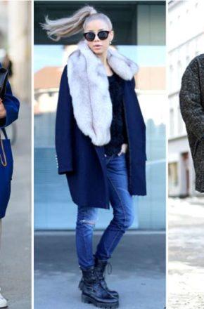 Пальто Oversize в верхней одежде действительно смотрится ярко и выразительно