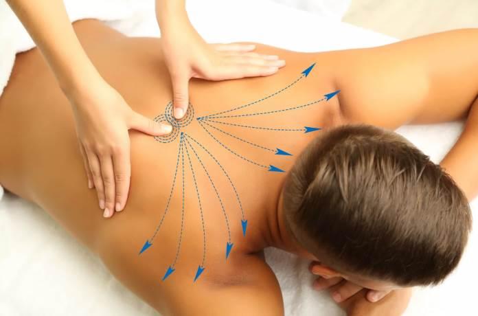 Как делать мужчине расслабляющий массаж спины